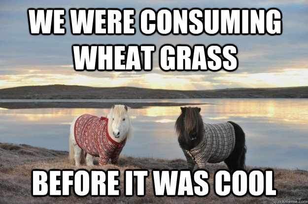 Wheatgrass Hipsters